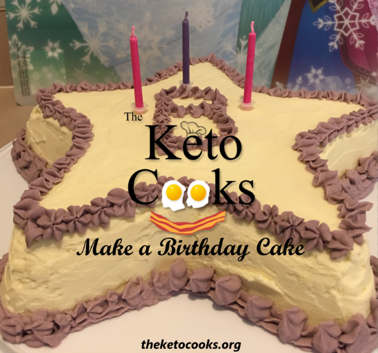 How to make a Keto Birthday Cake Sugar Free GF Low Carb The